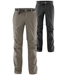 "Maier Sports® Zip-Outdoorhose ""Tajo 2"" teak oder schawrz"