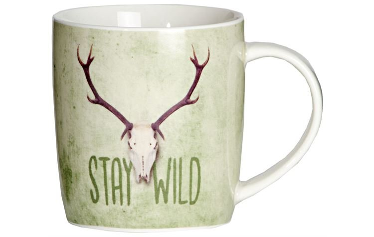 "AKAH Porzellantasse ""Stay Wild"""